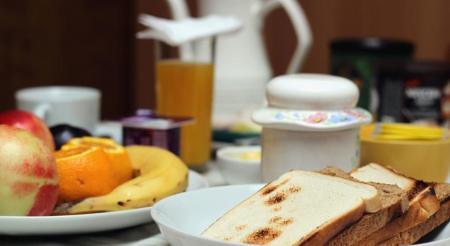 Café da Manhã - Hostal 5 Adobe