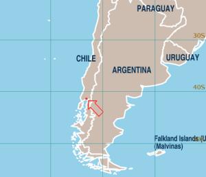 Mapa Chile - Puerto Varas - Puerto Montt