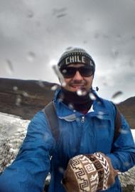 A vista lá de cima do Vulcão Osorno começou assim