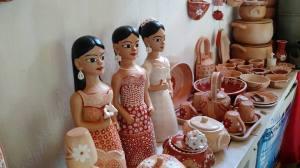 Bonecas e outros artesanatos do Vale do Jequitinhonha